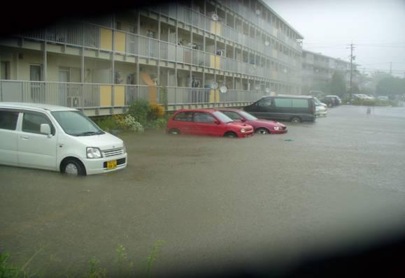 集中豪雨(市内の様子)②