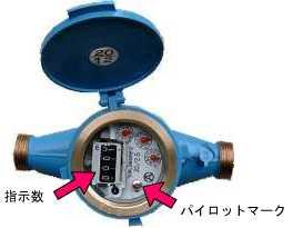 水道メーターの確認方法