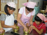 食生活改善推進員による料理教室