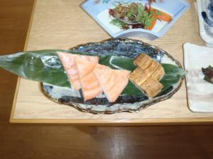養殖魚を使った料理