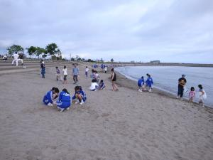 海老江海岸の様子