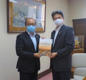新田知事への要望